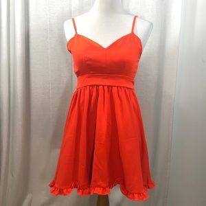 L'ATISTE Red Dress    Summer
